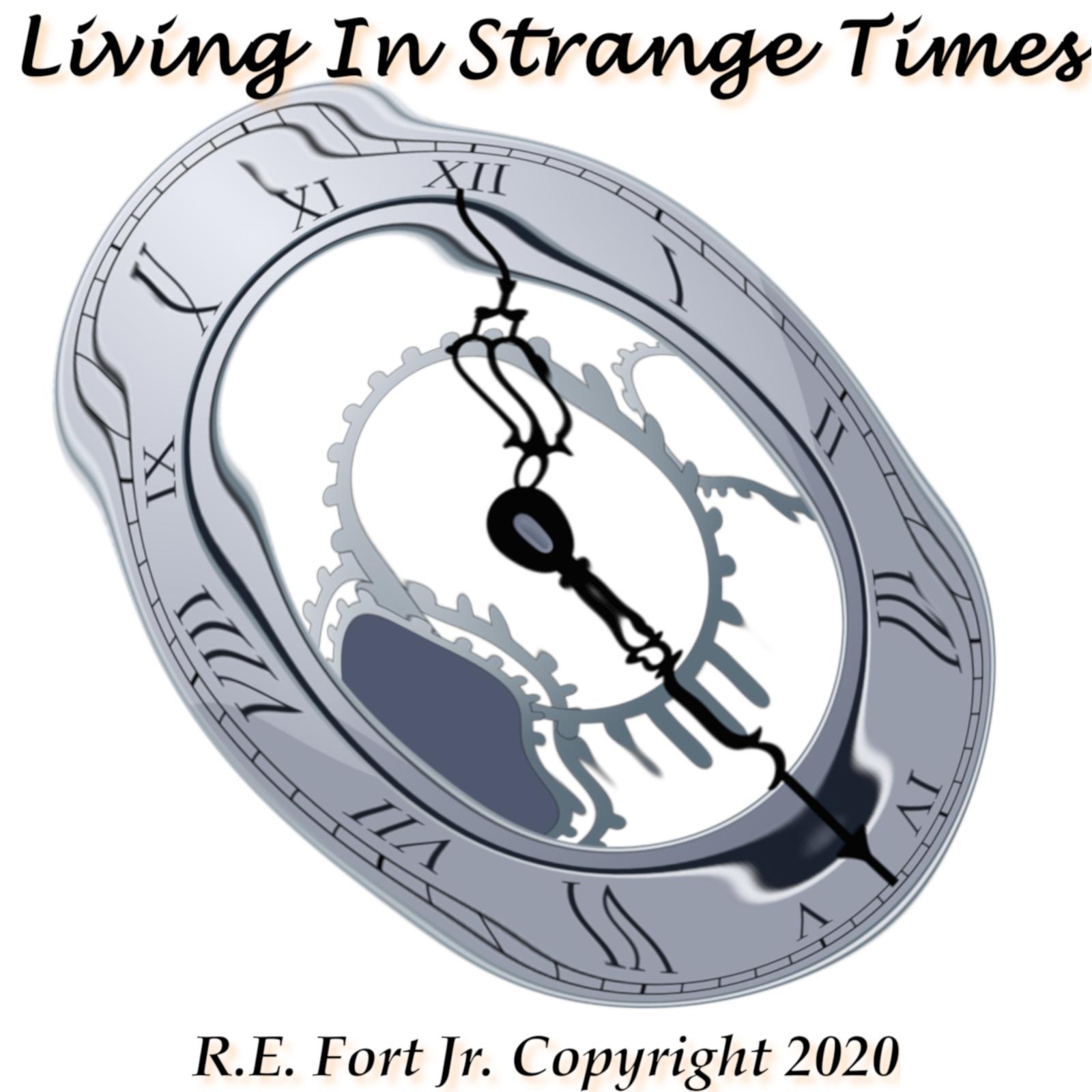 Living in Strange Times CD Artwork